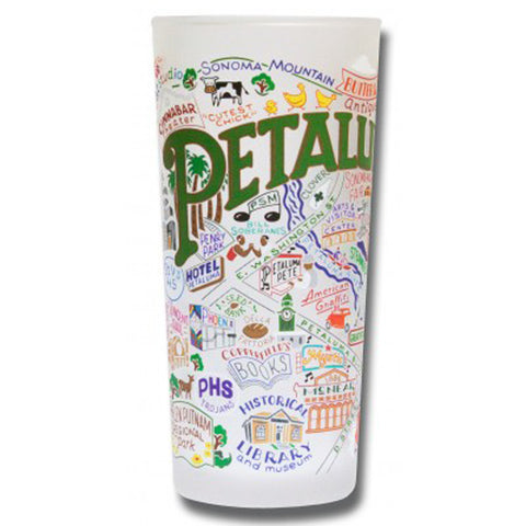 Petaluma Frosted Glass Tumbler