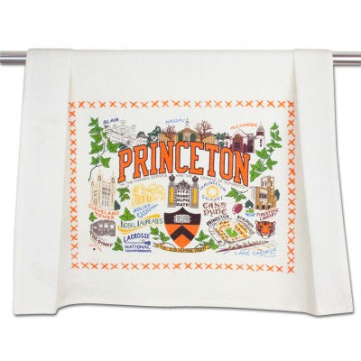 Princeton University Collegiate Dish Towel