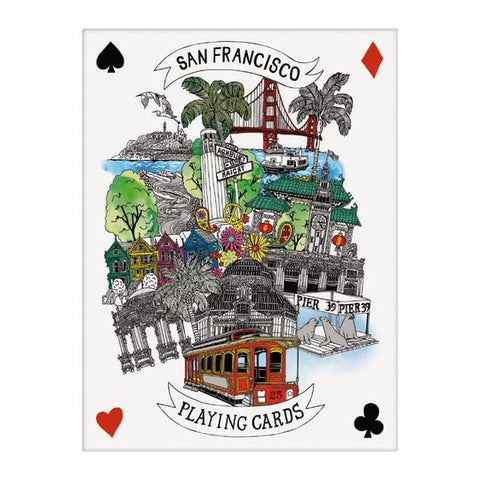 San Francisco Card Deck