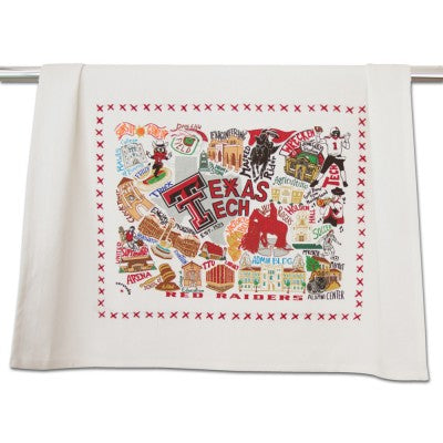 Texas Tech Collegiate Dish Towel