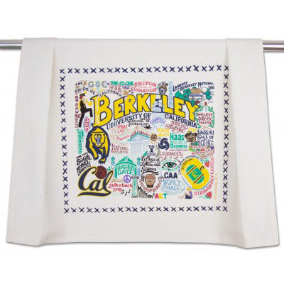 Berkeley UC (CAL) Collegiate Dish Towel