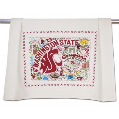 Washington State University Collegiate Dish Towel