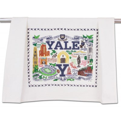 Yale University Collegiate Dish Towel