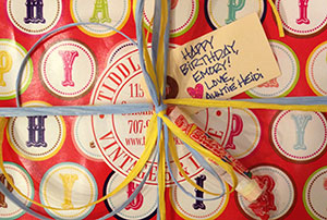 Tiddle E. Winks Gift Wrapping