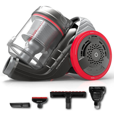 Ultrasilence System,  Ultrapower Technology,  TimeCyclonic Pro,  Smart Power Regulation,  Purifie l'air,  Ergonomic System,  Conga EcoExtreme 3000,  Aspirateur sans sac multi-cyclonique,  aspirateur multi-cyclonique sans sacs,  Animal Care
