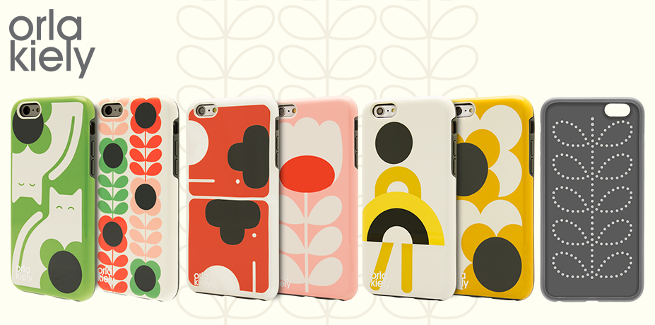 New! Orla Kiely Designs for iPhone 6/s & iPhone 6/s Plus