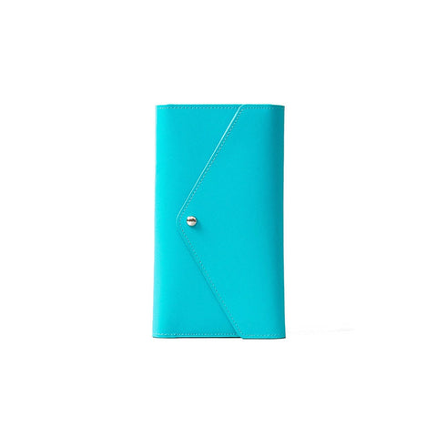 Travel Wallet Envelope Turquoise