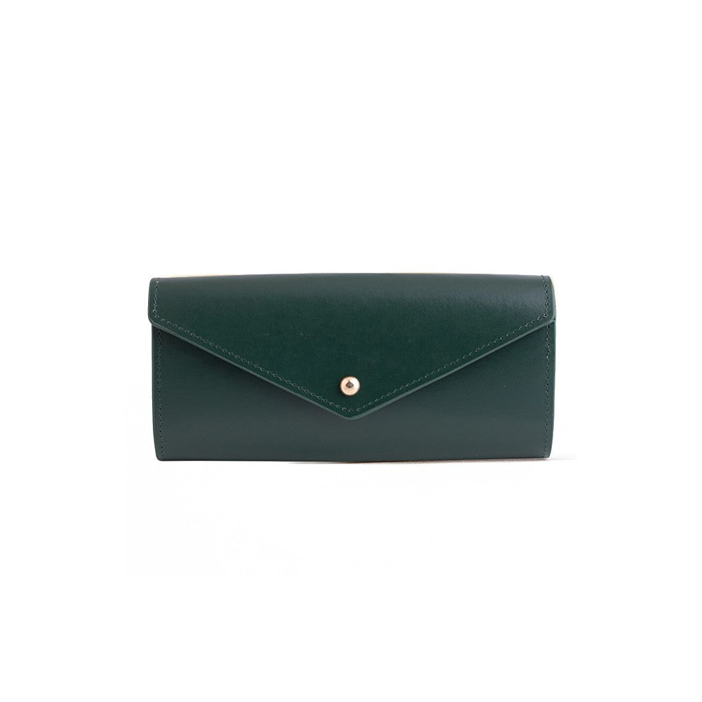 Envelope Wallet Deep Olive