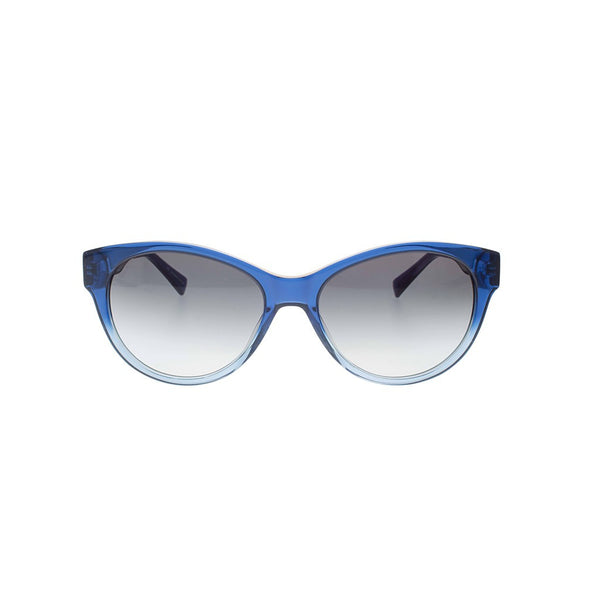 Blue to Light Blue Gradient Cateye Sunglasses
