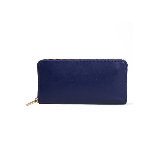 Long Wallet Navy Blue