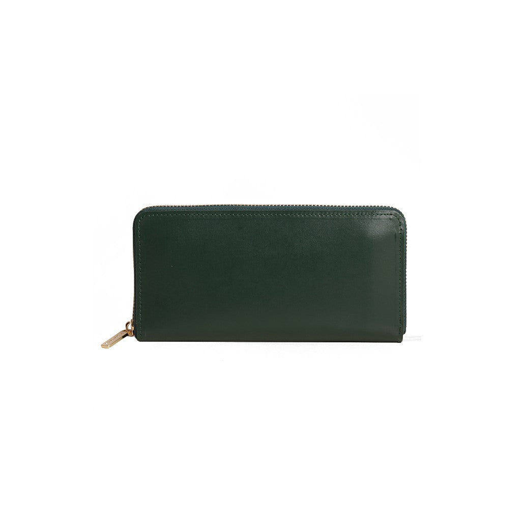 Long Wallet Deep Olive