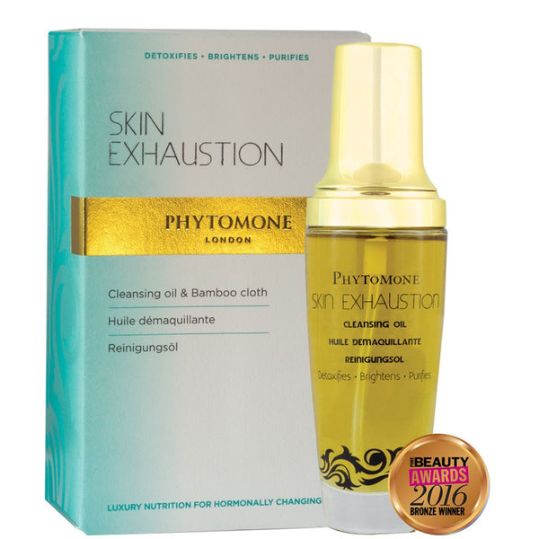 Skin Exhaustion Cleansing Oil 50ml +Bamboo Cloth