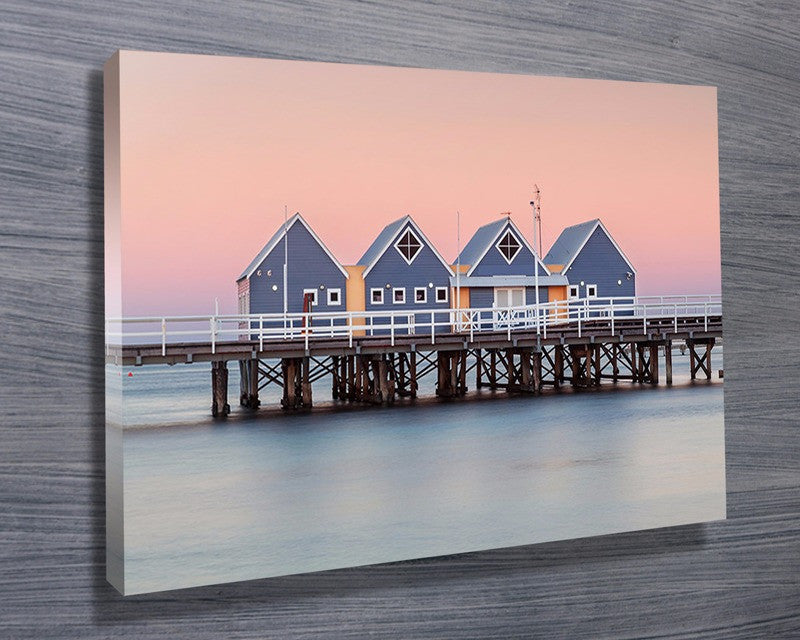 Prints On Canvas - Busselton Jetty, Western Australia - AlsoKnownAs Lifestyle Collection
