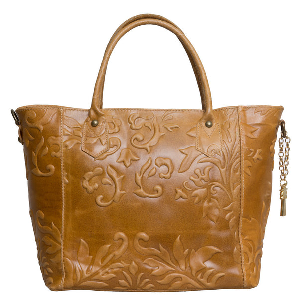 MARLAFIJI MONICA EMBOSSED PRINTED ITALIAN LEATHER