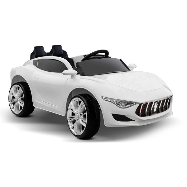 Kids Ride on Sports Car – White