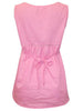 Sleeveless Pintuck Top Pink