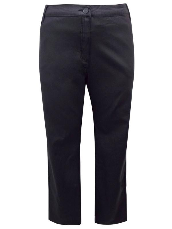 Straight Leg Coated Trousers Jeans
