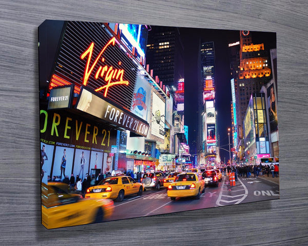 Prints On Canvas - Times Square - AlsoKnownAs Lifestyle Collection