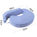 Baby Breast Feeding Support Memory Foam Pillow w/ Zip Cover