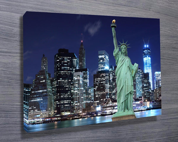 Prints On Canvas - New York Skyline - AlsoKnownAs Lifestyle Collection