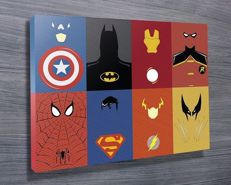 Prints On Canvas - Marvel Characters - AlsoKnownAs Lifestyle Collection