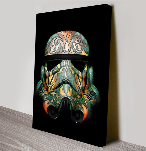 Prints On Canvas - Painted Storm Trooper - AlsoKnownAs Lifestyle Collection