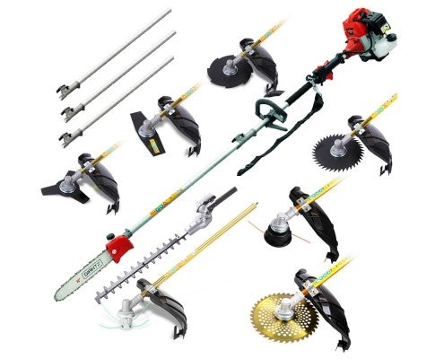 Giantz 62CC 9in1 Pole Chainsaw Set