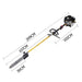 2 In 1 Petrol Pole Chainsaw Hedge Trimmer Pruner - 65CC