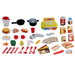 2-IN-1 Kitchen and Supermarket Play Set