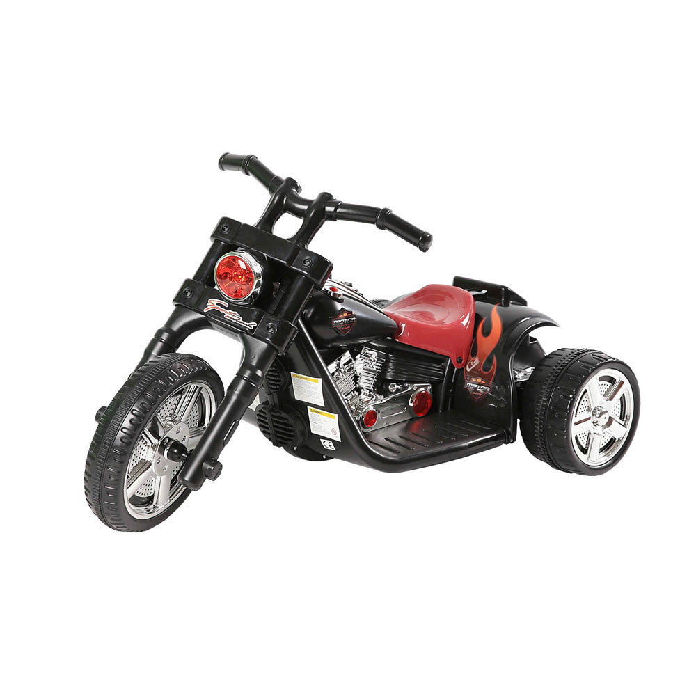 Kids Ride on Motorbike Black