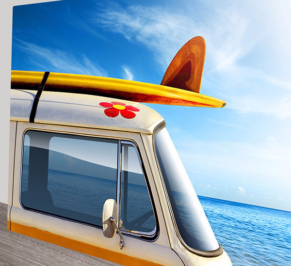 Prints On Canvas - Kombi Surf Trip - AlsoKnownAs Lifestyle Collection