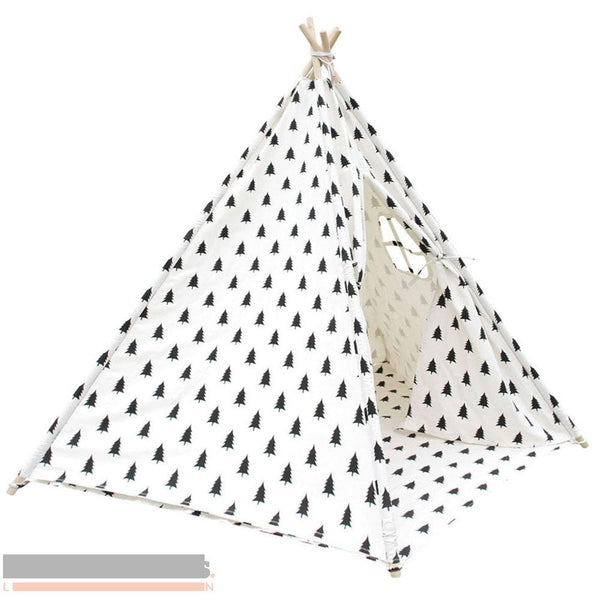 Tree print 5 pole Teepee