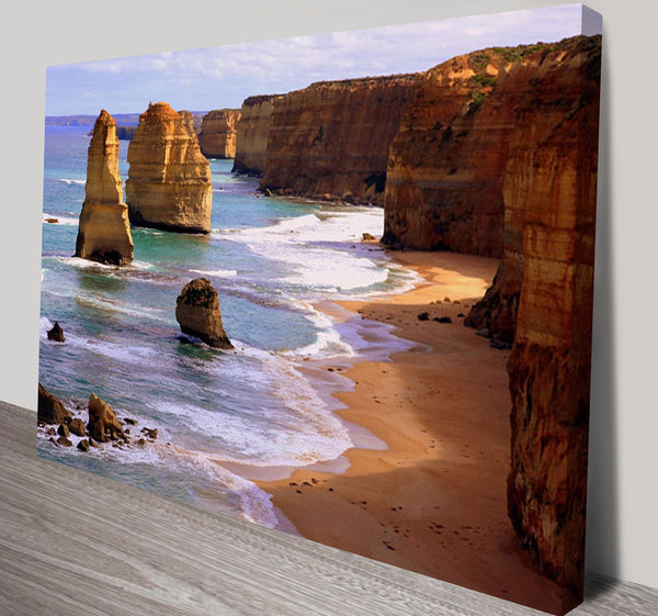 Prints On Canvas - The Twelve Apostles, Great Ocean Road - AlsoKnownAs Lifestyle Collection