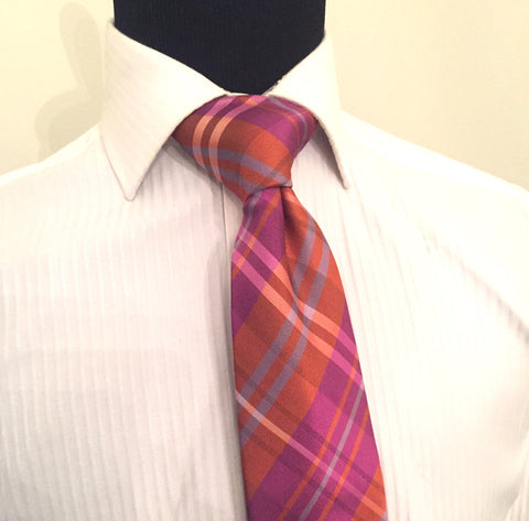Jumbo Plaid Necktie