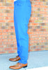 PACIFIC BLUE ( STRAIGHT CUT CHINOS)