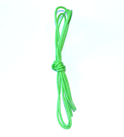 Lime Green (Colorful Dress Shoelaces)