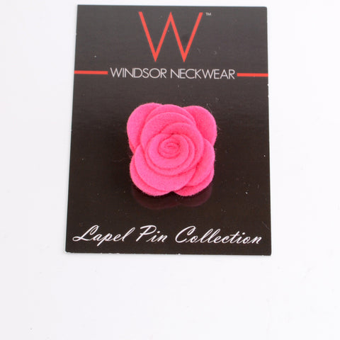 Dark Pink Lapel Rose