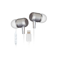 Retrak Helix Lightning Earbuds White