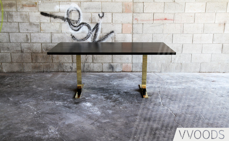 Larchmont Table Gold Image