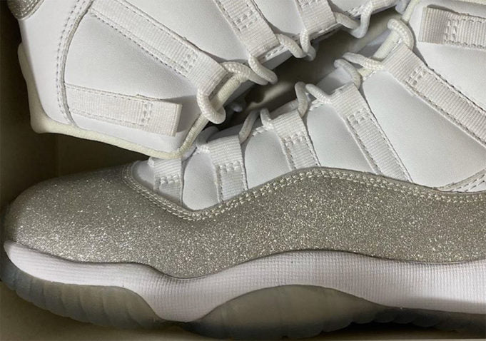 Jordan 11 Metallic Silver Womens