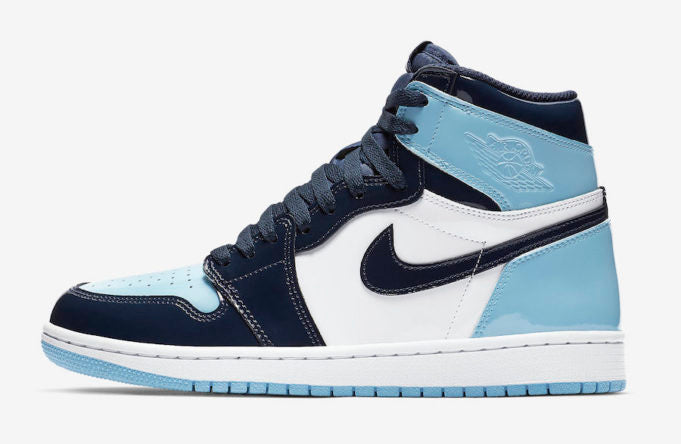 Air Jordan 1 UNC Patent Leather