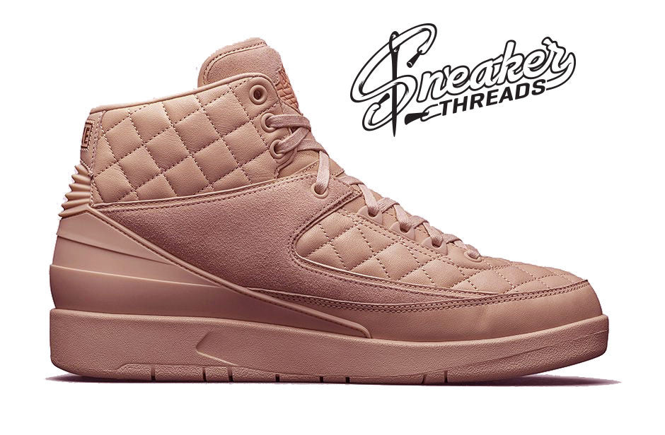 Just Don X Jordan 2 Arctic Orange Rose Release