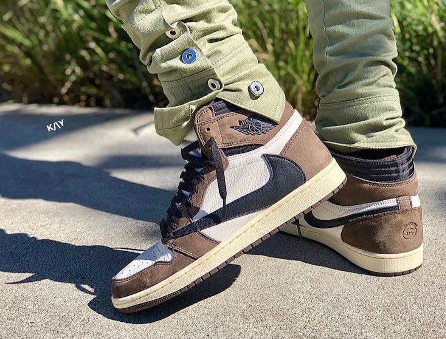 Travis Scott x Air Jordan 1 Cactus Jack