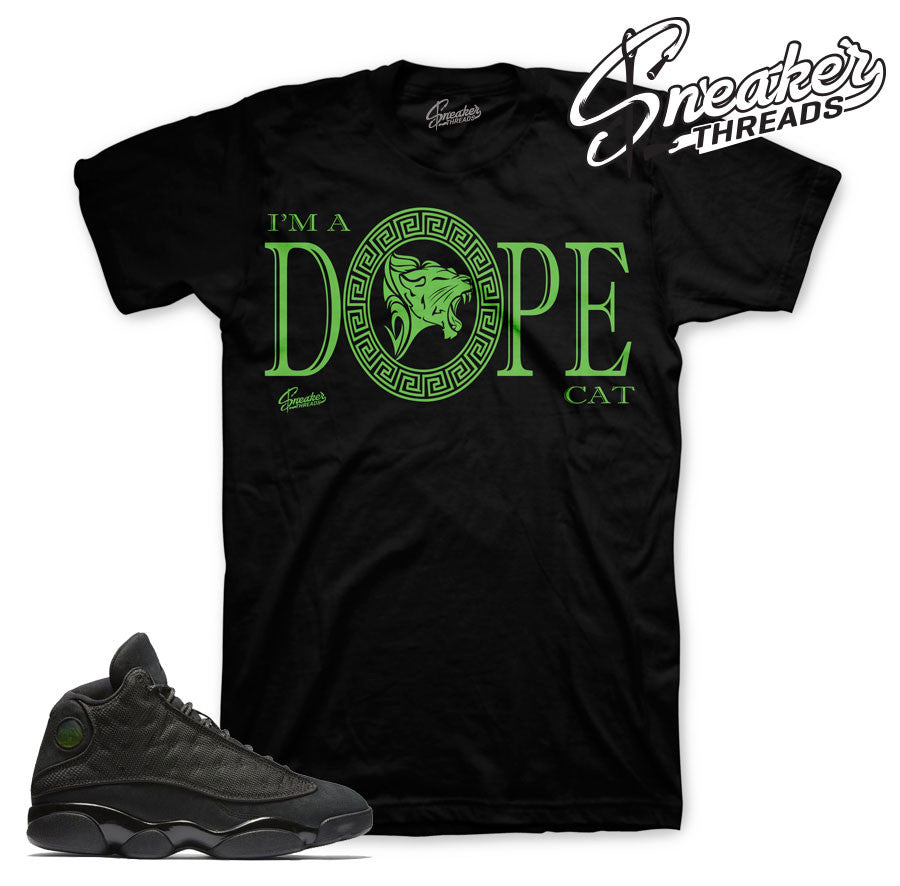 Jordan 13 Black Cat Shirts