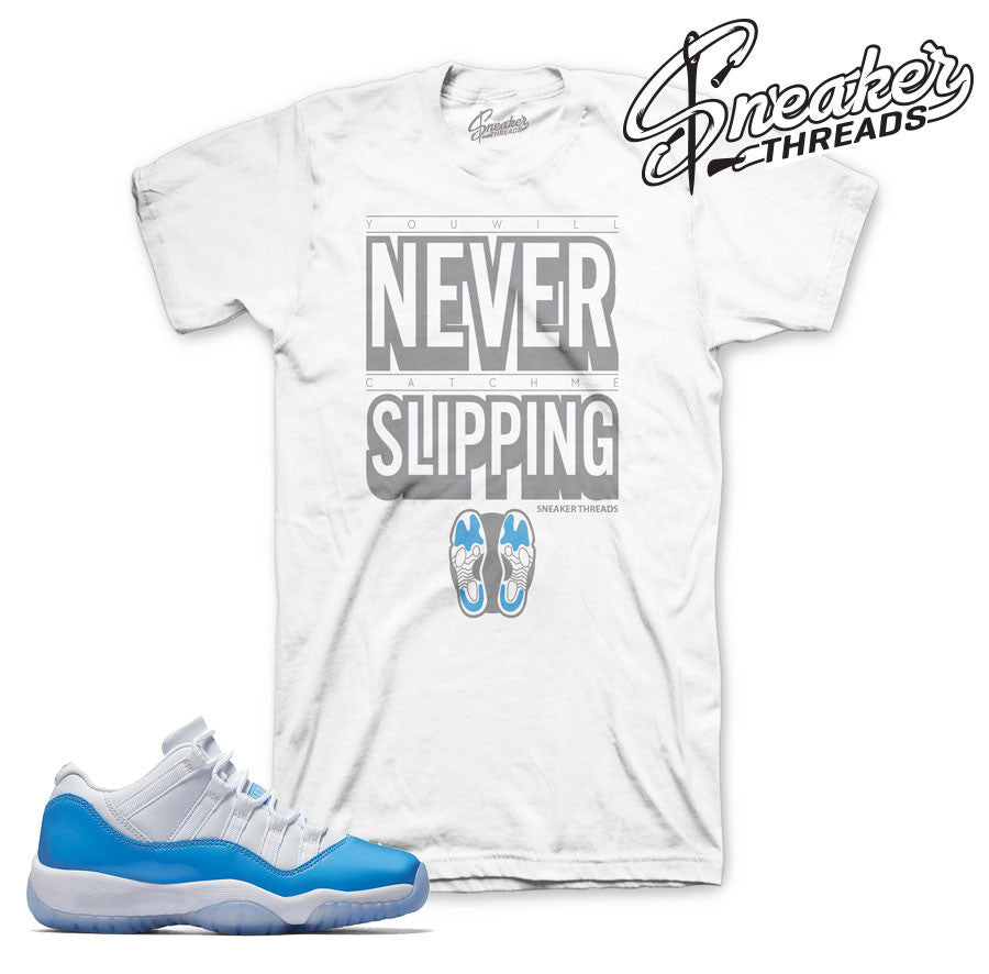 Jordan 11 Columbia Blue UNC Shirts