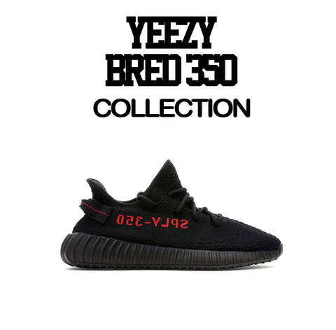 Yeezy Boost Black Red Shirts