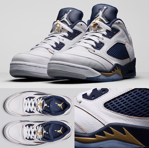 Air Jordan 5 Low Dunk From Above