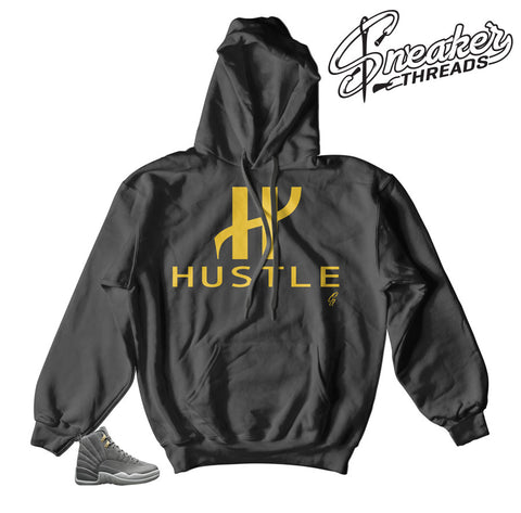 Jordan 12 dark grey hoodies | In it to win it hoodie.