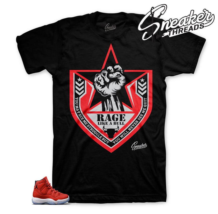 Jordan 11 win like 96 tees | crown biggie tee to match retro 11.