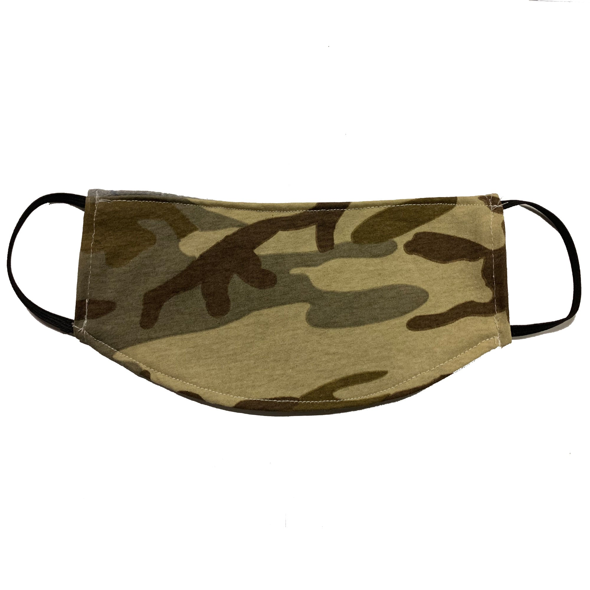 Adult Face Mask - Desert Camo Design